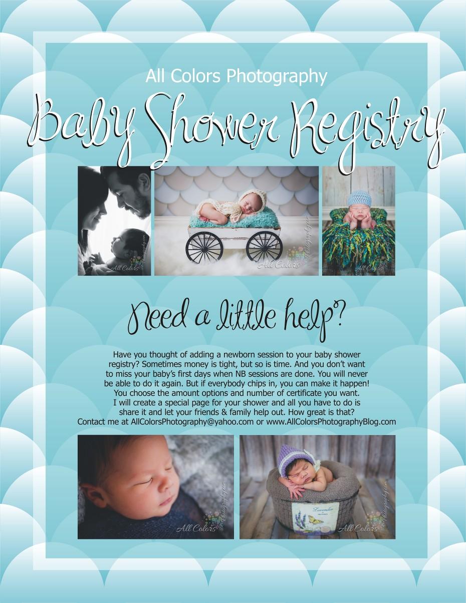 San Diego Baby Shower Registry San Diego Newborn Photographer