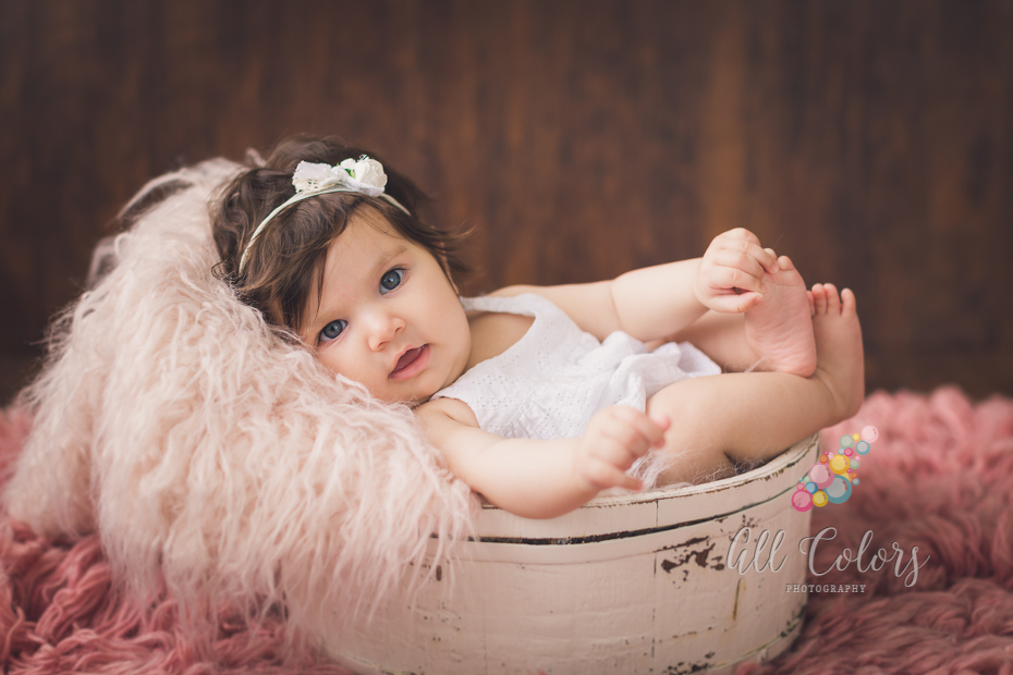 4 months baby photo shoot ISOCUTE Newborn Baby Photography Props Infant Boy Girl