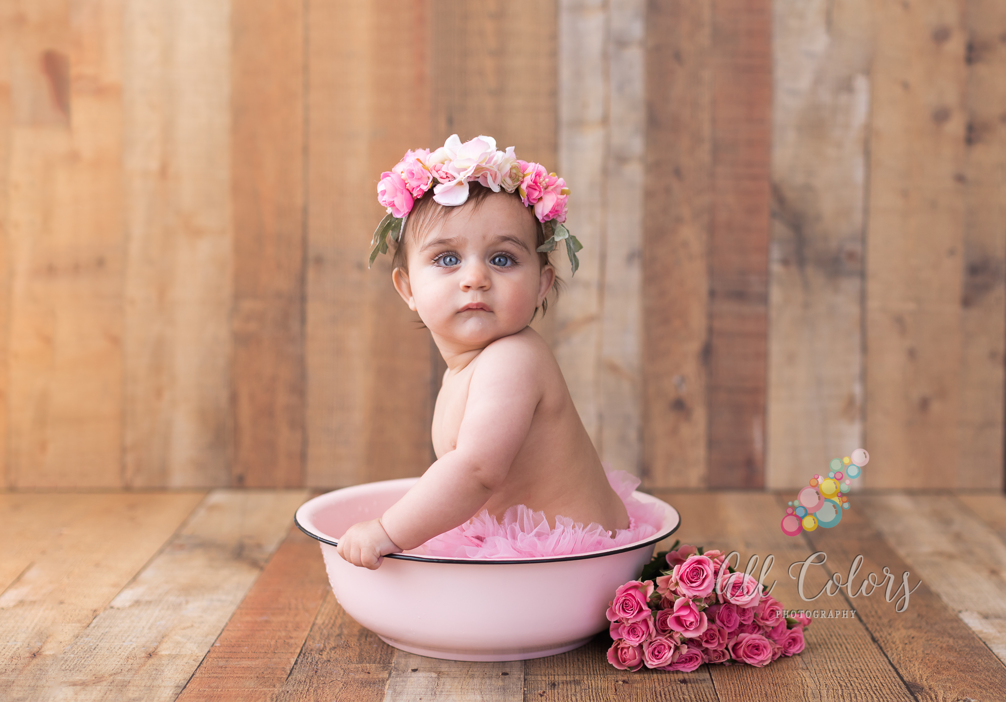 Milk Bath Milestone Session – Ava » San Diego Newborn Photographer ...